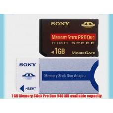 SONY MEMORY STICK PROD DUO 1GB