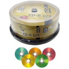 Lightscribe 5 colours cd