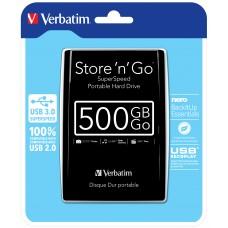 External HDD 500gb