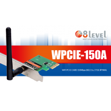 Wireless PCI-E LAN Card 150Mbps WPCIE-150A